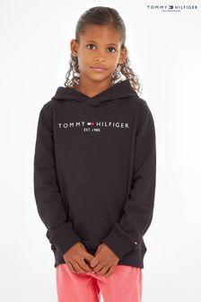 Tommy Hilfiger Black Essential Hoodie