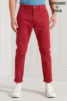 Superdry Organic Cotton Core Slim Chino Trousers
