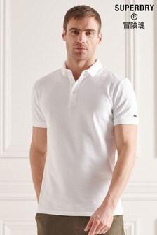 Superdry Organic Cotton City Pique Polo Shirt