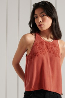 Superdry Embroidered Cami Top
