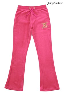 Juicy Couture Velour Bootcut Joggers