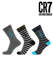 CR7 Boys Fashion Socks 3 Pack