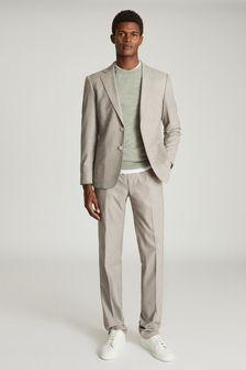 Reiss Grey Boyce Slim Fit Tailored Blazer