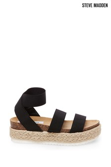 Steve Madden Black Kimmie Sandals