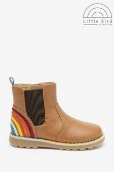 Little Bird Rainbow Chelsea Boots