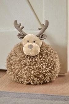 Christmas Reindeer Doorstop