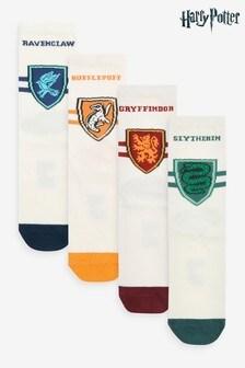 Harry Potter Ankle Socks 4 Pack