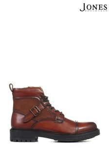 Jones Bootmaker Tan Kyoto Men's Leather Hiker Boots