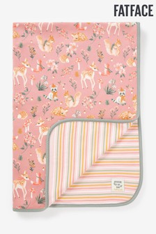 FatFace Baby Crew Printed Blanket