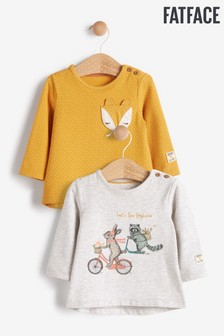 FatFace Baby Crew T-Shirts 2 Pack