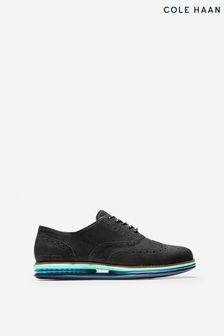 Cole Haan Black Originalgrand Gel Oxford Shoes