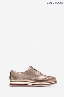 Cole Haan Gold Originalgrand Gel Oxford Shoes