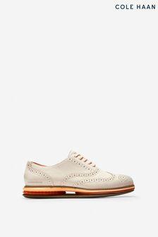 Cole Haan Cream Originalgrand Gel Oxford Shoes
