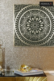 Arthouse Gold Mandala Canvas