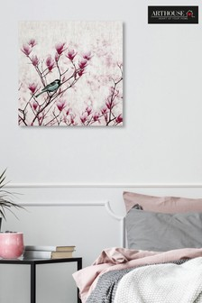 Arthouse Magnolia Bird Canvas