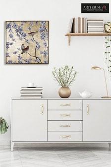 Arthouse Blossom & Birds Capped Canvas