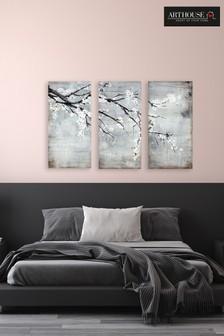 3 Piece Arthouse Blossom Canvas