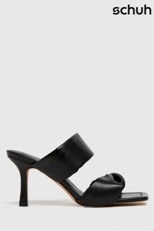 Schuh Black Sierra Padded Mules