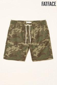 FatFace Studland Camo Print Shorts