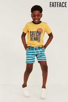 FatFace Block Stripe Studland Shorts