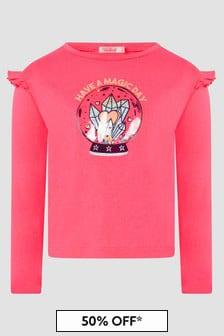 Billie Blush Girls Pink T-Shirt