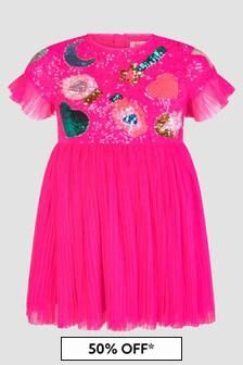 Billie Blush Girls Purple Dress
