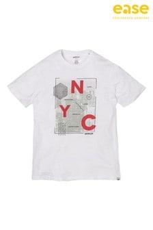 CAT White NYC T-Shirt