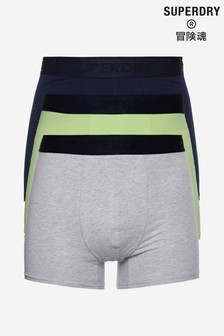Superdry Organic Cotton Classic Boxers Triple Pack
