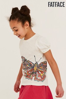 FatFace Butterfly Graphic T-Shirt