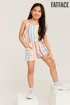 FatFace Colour Stripe Playsuit