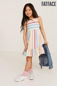 FatFace Colour Stripe Dress