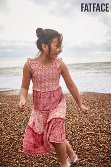 FatFace Beach Geo Ruby Dress