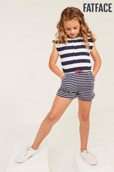 FatFace Mia Stripe Jersey Playsuit