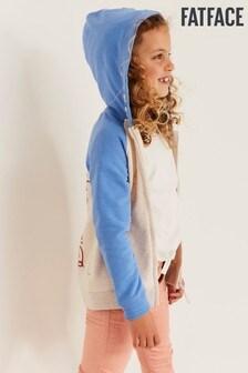 FatFace Starfish Raglan Zip Sweater