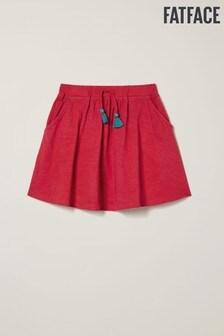 FatFace Tassel Jersey Skirt