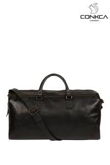 Conkca Edu Leather Holdall