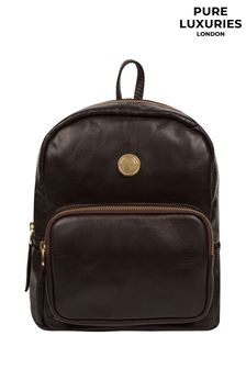Pure Luxuries London Cora Leather Backpack