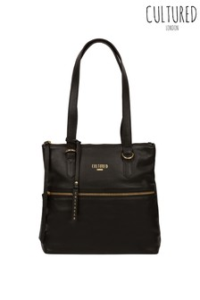Cultured London Chesham Leather Tote Bag