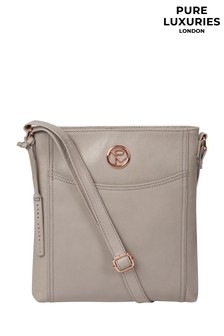 Pure Luxuries London Gilpin Leather Cross Body Bag