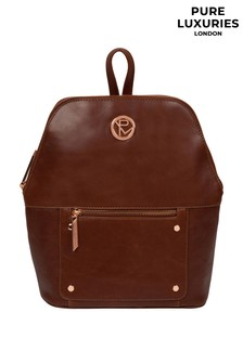 Pure Luxuries London Rubens Leather Backpack