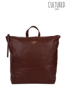 Cultured London Iiford Leather Backpack
