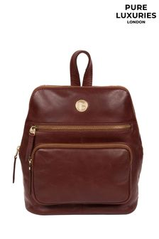 Pure Luxuries London Verbena Leather Backpack