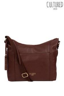 Cultured London Iver Leather Shoulder Bag