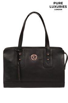 Pure Luxuries London Klee Leather Handbag