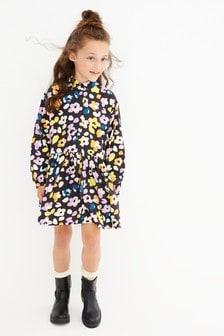 Floral Shirt Dress (3-16yrs)