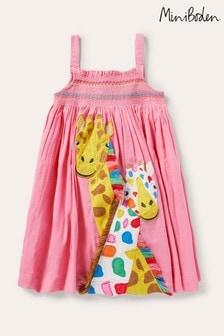 Boden Fun Appliqué Sun Dress