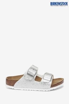 Birkenstock Silver Cosmic Sparkle Arizona Sandals