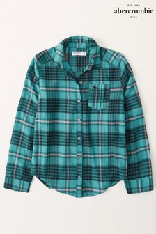 Abercrombie & Fitch Plaid Check Shirt