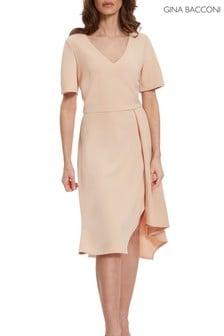 Gina Bacconi Mylee Soft Stretch Crepe Dress