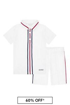 Bimbalo White Cotton Set